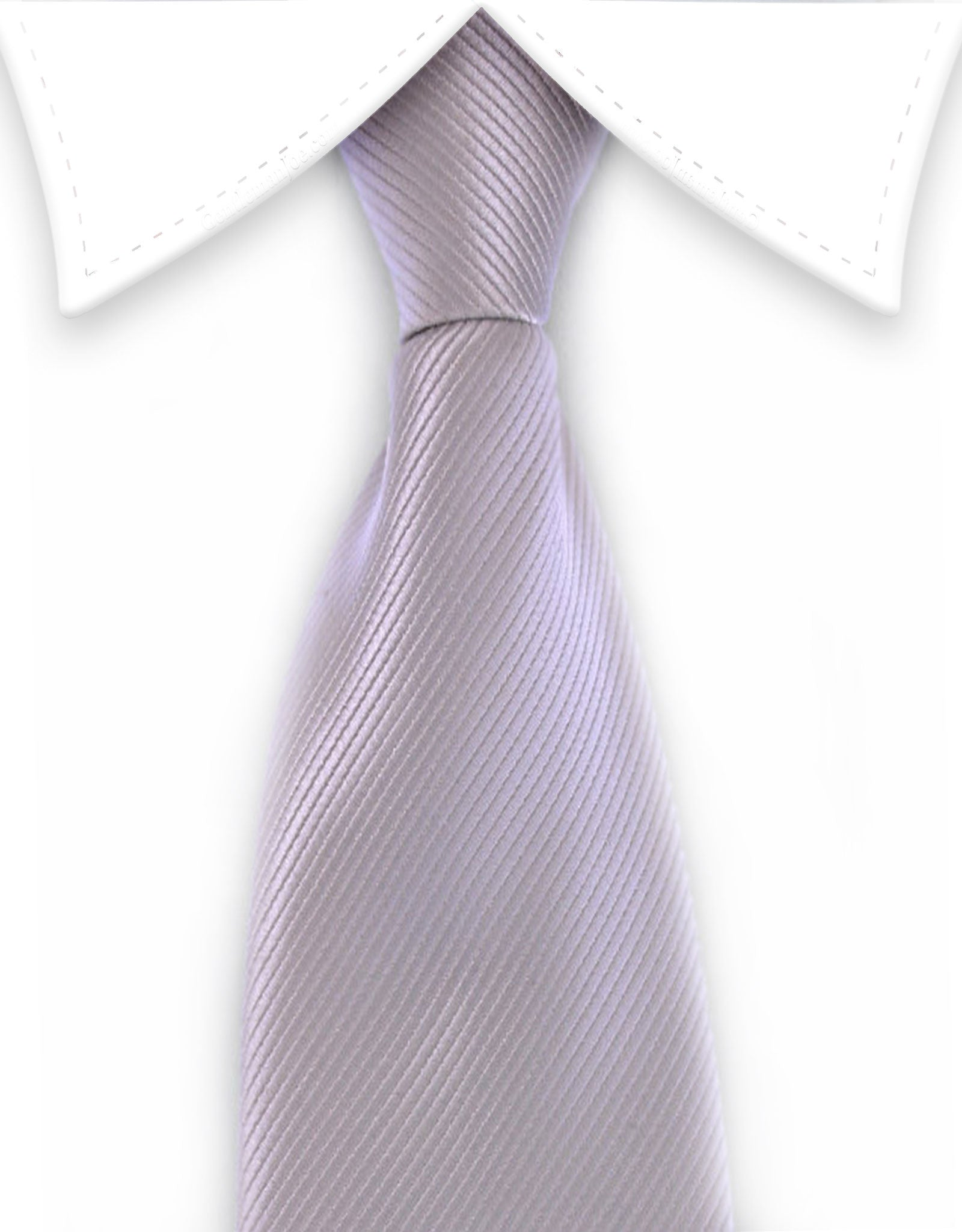 Men's Gray Zipper Necktie