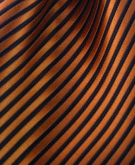 orange and black pocket square