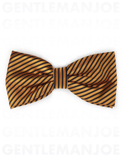 Orange and Black Bowties