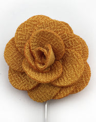 Autumn Yellow Lapel Flower Pin