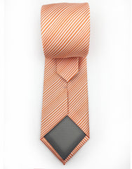 orange extra long ties