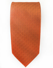 orange gentleman joe tie