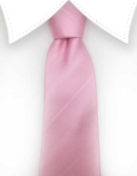 blush pink extra long tie