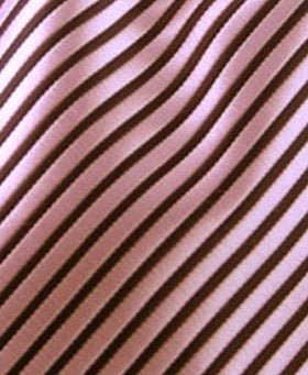 pink and black striped pocket hanky