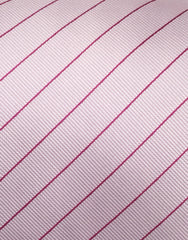 Rose Pink Striped Tie