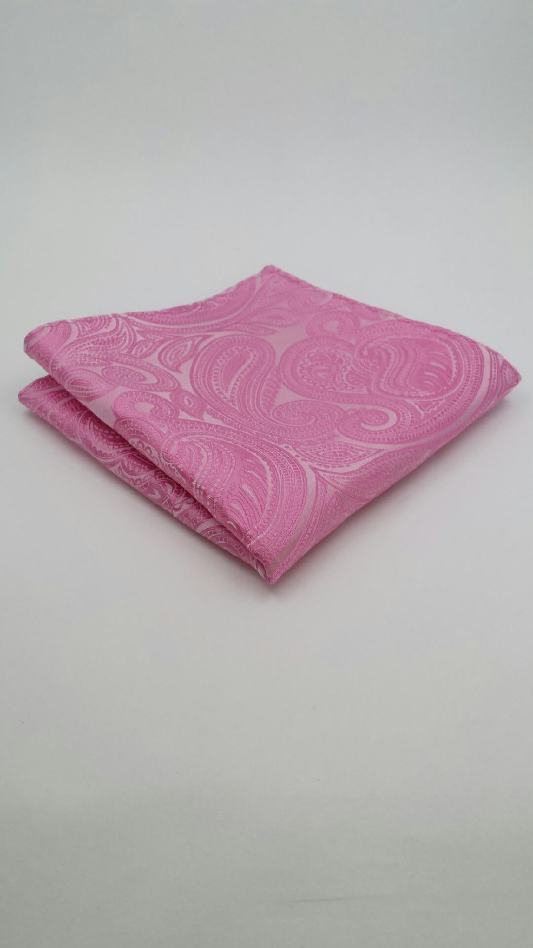 Pink paisley hanky