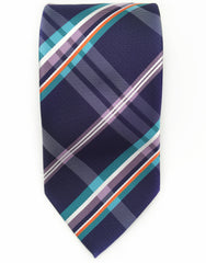 Purple & Teal tie
