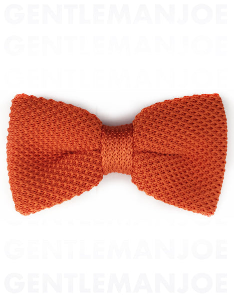 pumpkin orange bow tie