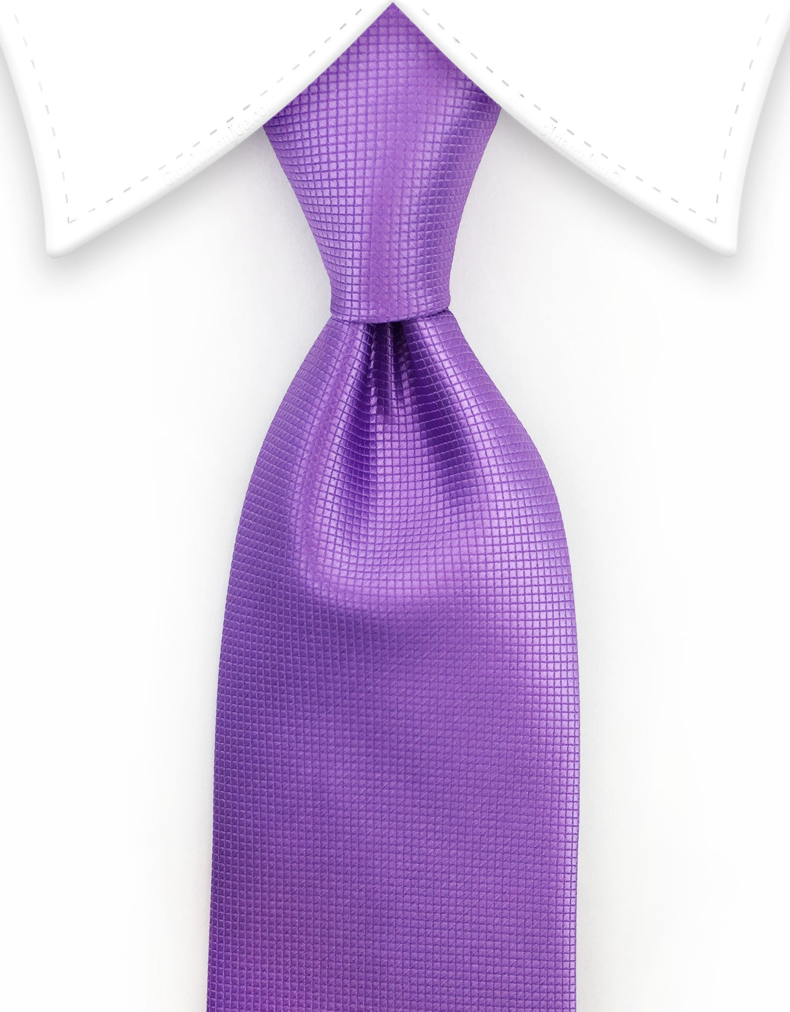 Extra Long Purple Tie