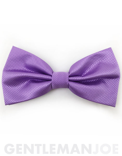 orchid purple bow tie
