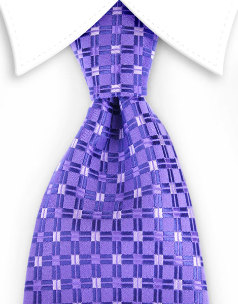 purple necktie