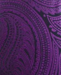 Purple Paisley Boy's Tie