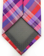 Purple & Red Tie