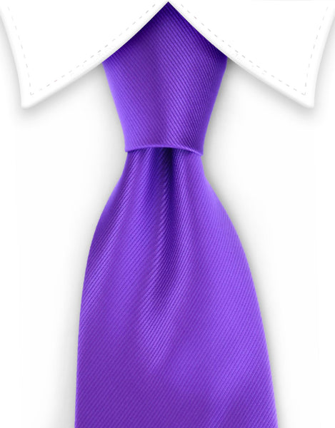 Solid Purple Tie