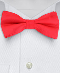 Men's Red bow tie