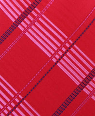 Red & Pink Plaid Necktie