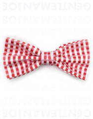 Red white bowtie