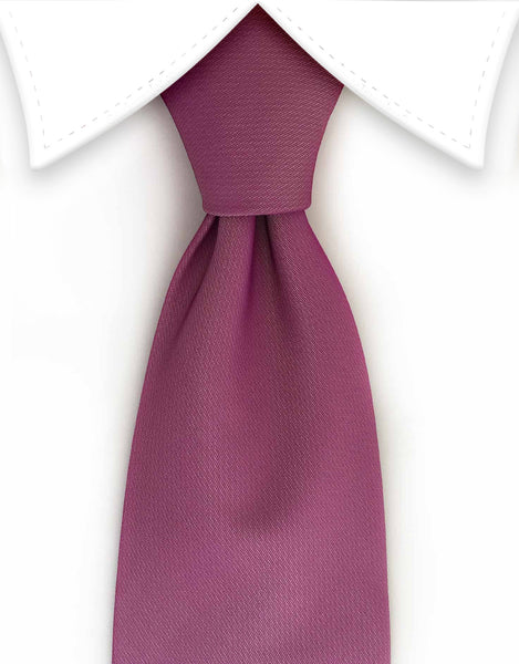 Dusty Purple Rose Necktie