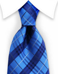 Royal blue & Navy necktie