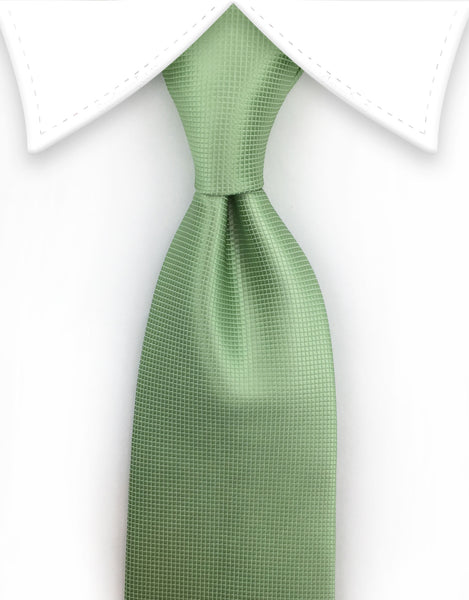 pastel mint green extra long tie