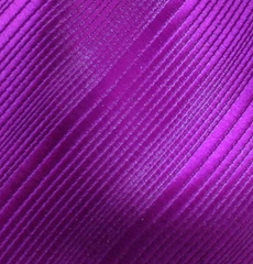 Fuchsia Purple Big and Tall Necktie - 3XL