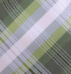 green plaid pocket square