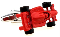 red hot rod cuff links