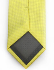 tip of yellow tie