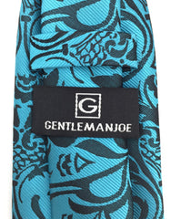 Gentleman Joe Teal Extra Long Tie