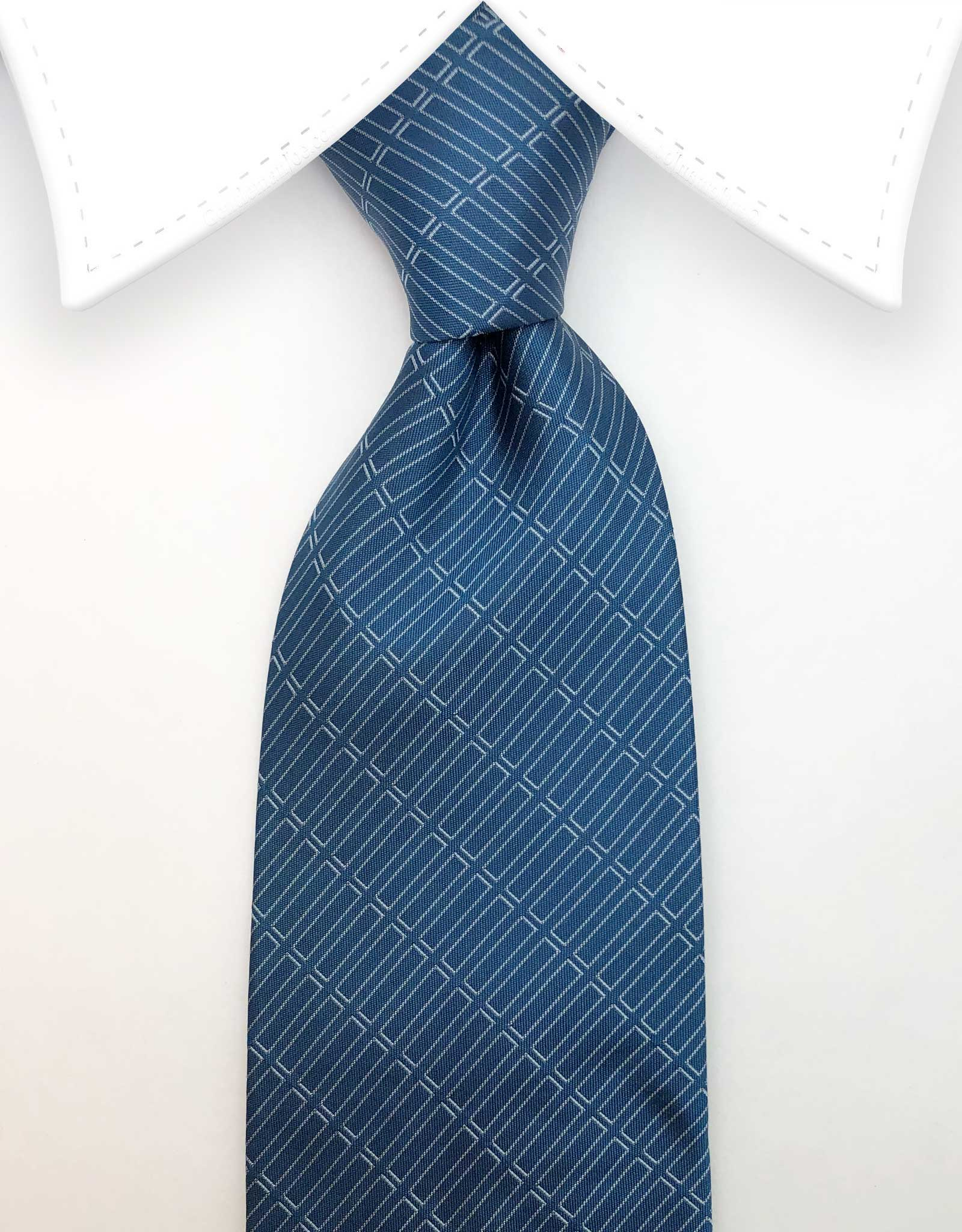 Teal blue ties