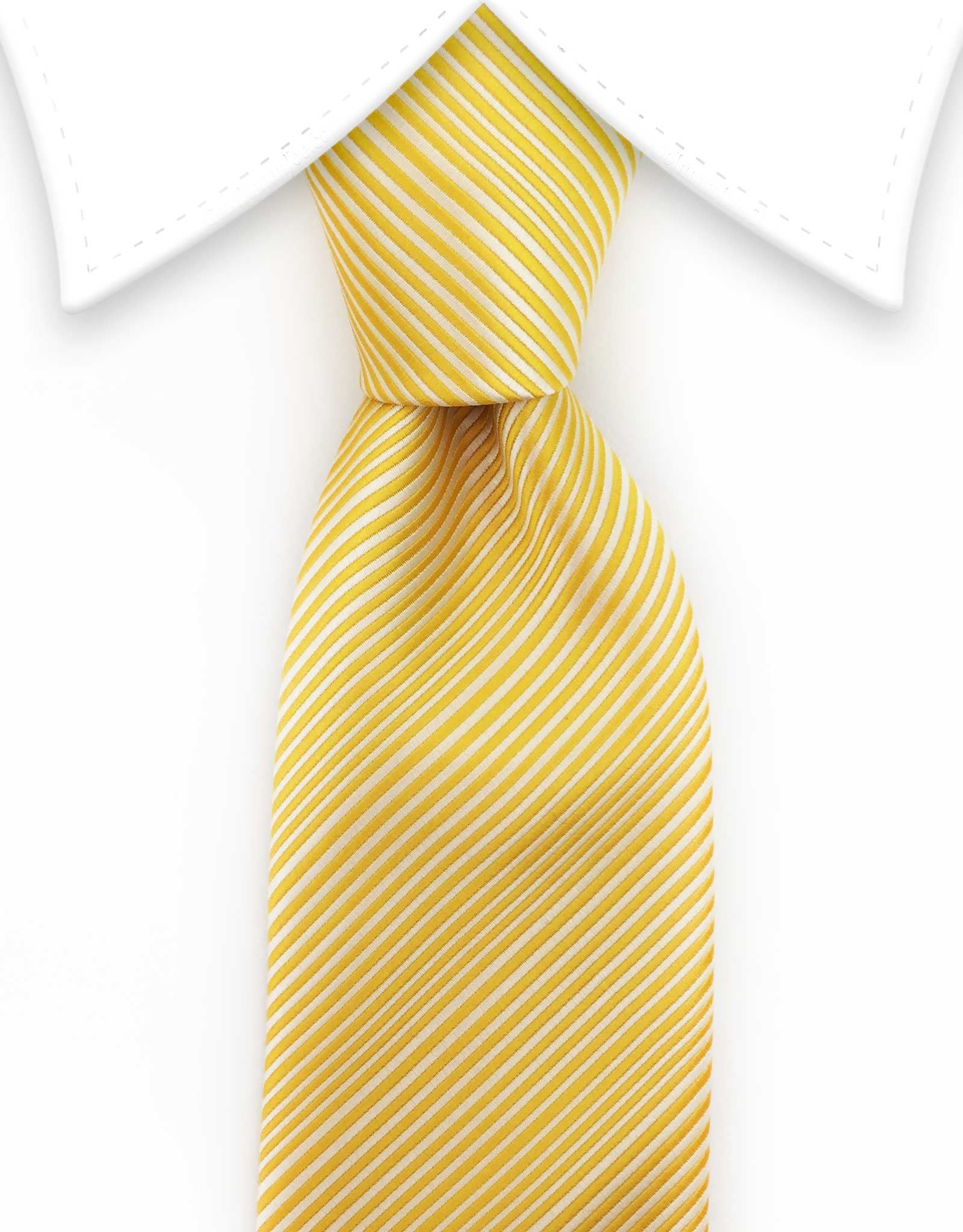 yellow extra long ties