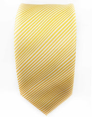 yellow striped tie