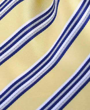 yellow blue pocket square hanky
