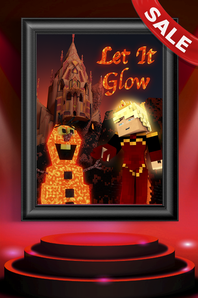 Let it Glow Poster (SALE)