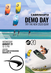 2020 Cabrinha Kiteboarding Demo Day