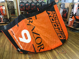 Used 2017 Ocean Rodeo Razor 9m Kiteboarding Kite