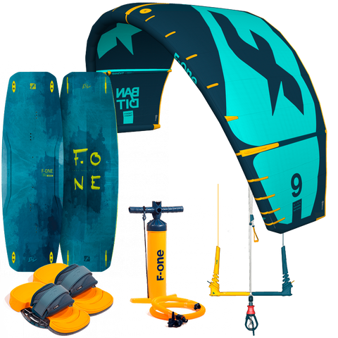 2020 F-One Bandit Kiteboarding Package