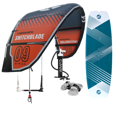 :01 Cabrinha Switchblade Kiteboarding Package
