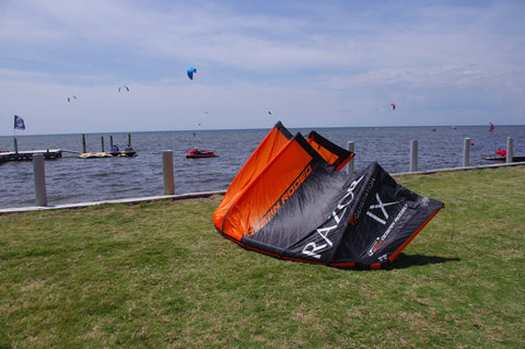 Used 2017 Ocean Rodeo Razor Kiteboarding Kite