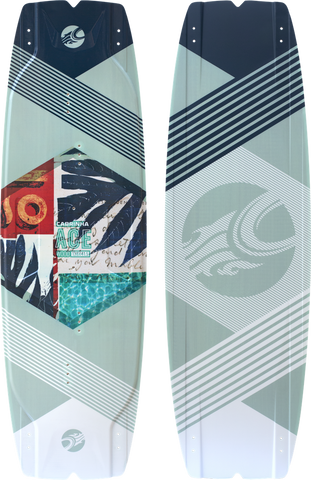 :01 Cabrinha Ace Wood Kiteboard