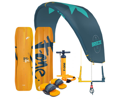 2021 F-One Light wind Breeze kiteboarding package