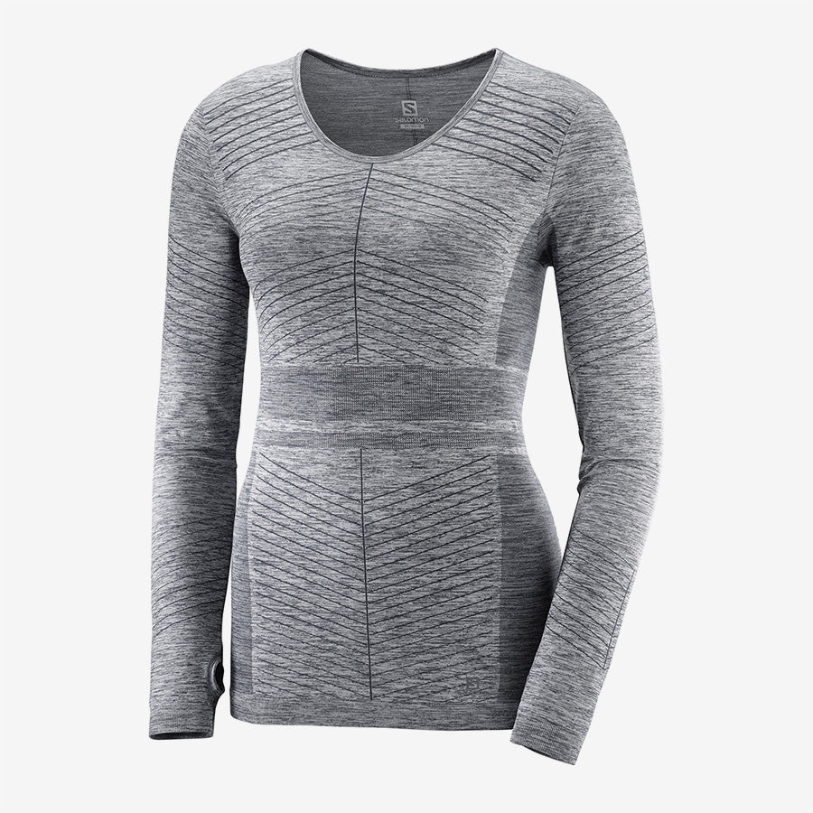 Salomon - Elevate Move On LS Tee Womens