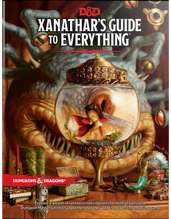 D&D: Xanathar's Guide of Everything