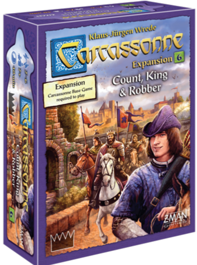 Carcassonne - Count, King & Robbers