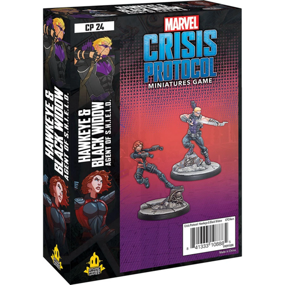 Marvel Crisis Protocol: Hawkeye & Black Widow, Agent of S.H.I.E.L.D