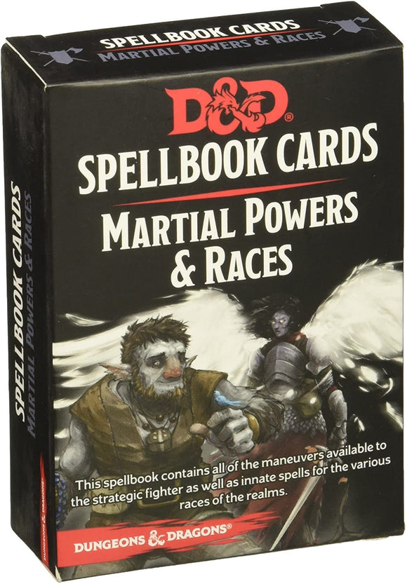 D&D: Spellbook Cards-Martial Powers & Races