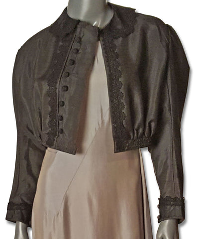 Edwardian shantung jacket for sale on refashioner
