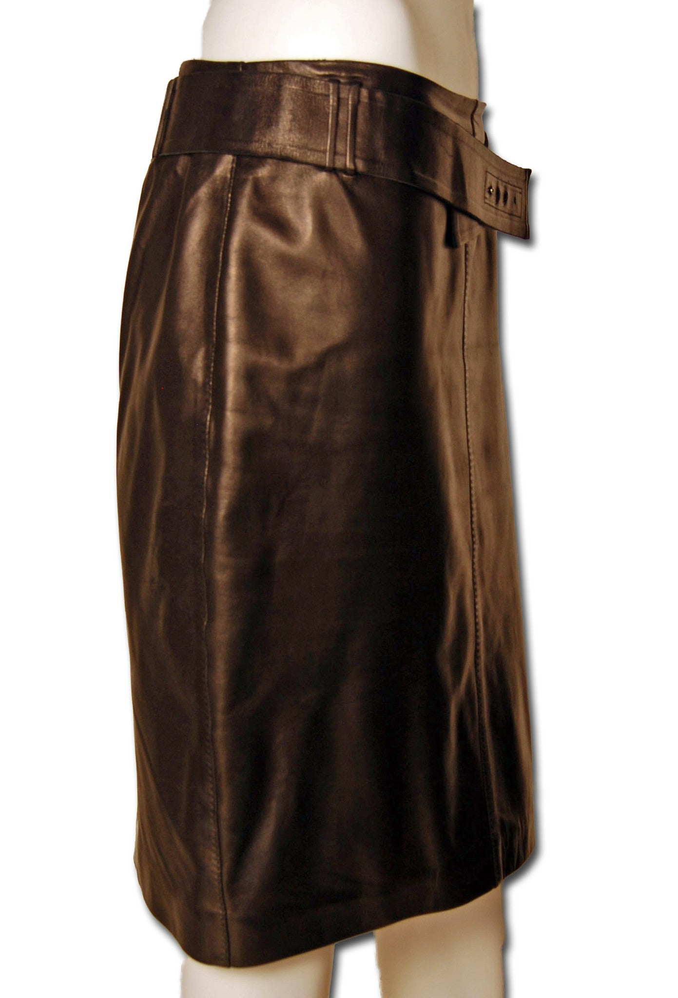 0d0aa061afcd1e ... 1  Tom Ford Gucci Leather Skirt - refashioner - 2 ...