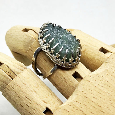 """Sea Water"" Ring"
