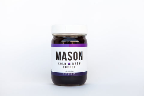 Lavender Cold Brew<br />12 Jars - Mason Coffee